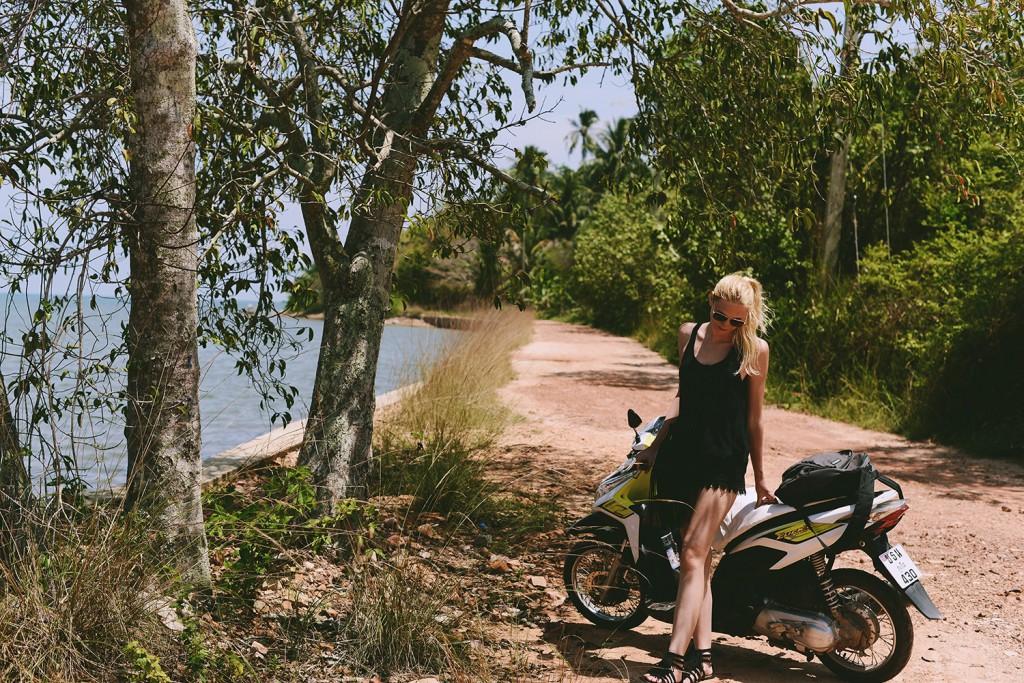 Moped Thailand Dschungel