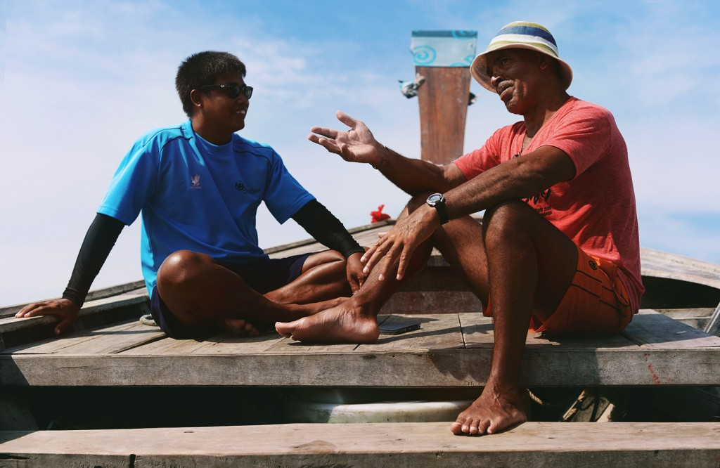Fischerboot Koh Yao Yai