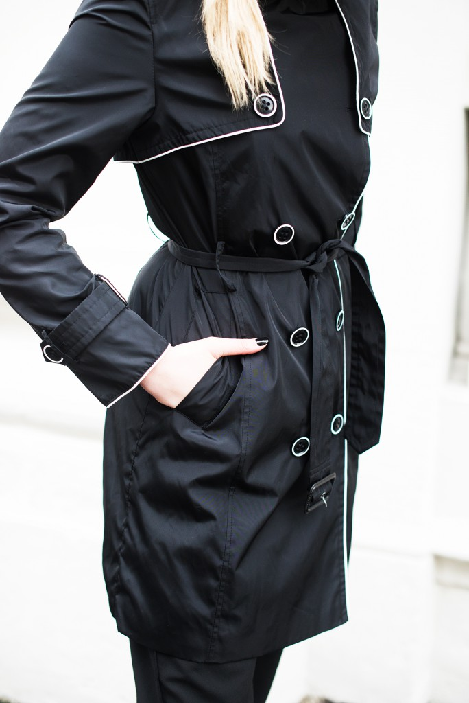 alba moda trenchcoat details_details trenchcoat schwarz_schwarzer trenchcoat alba moda_anzkörper