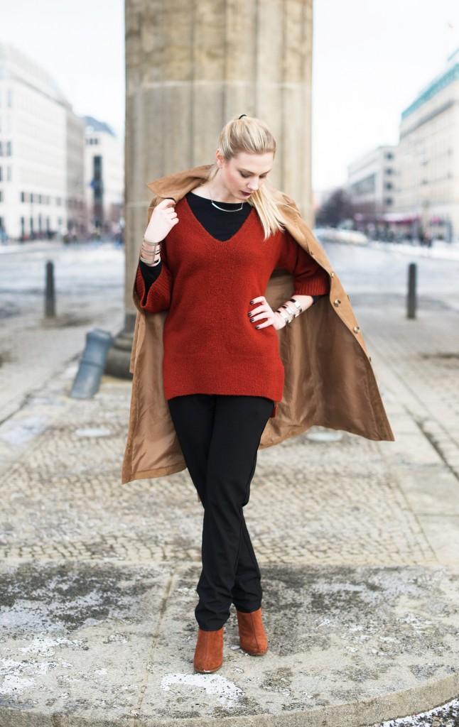 mango_outfit_hohe schuhe breiter absatz braun mango_hm trenchcoat braunes wildleder_wildleder trenchcoat_fashionweek januar 2016_modeblog kassel_modeblog kassel_modeblog