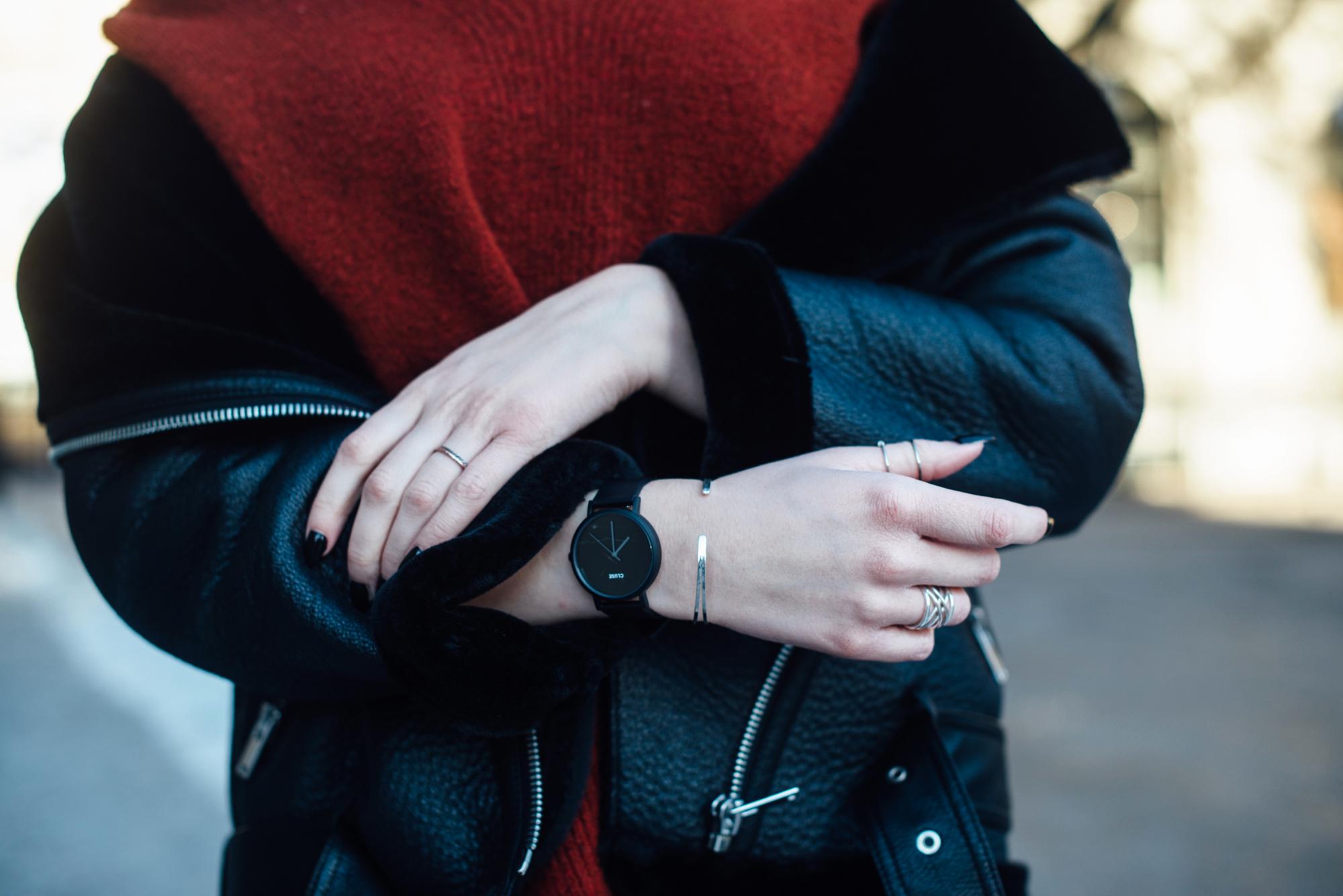 04-Kiamisu-Modeblog-Fashion Week Berlin_Shearling Jacke_Tamaris Stiefeletten_Schiebermütze-22