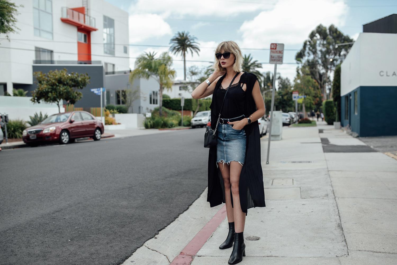 Jeansrock kombinieren_Jeansrock stylen_Streetstyle Los Angeles_Kiamisu_5