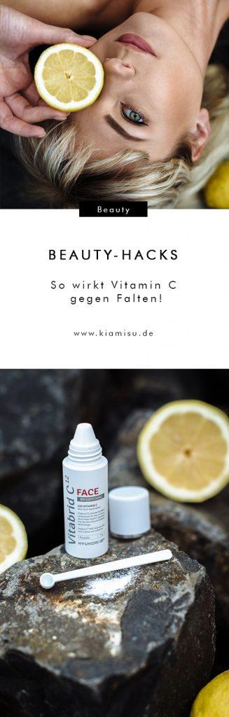Vitamin C gegen Falten