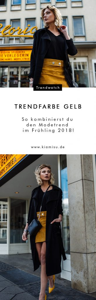 So kombinierst du den Modetrend im Frühling 2018!