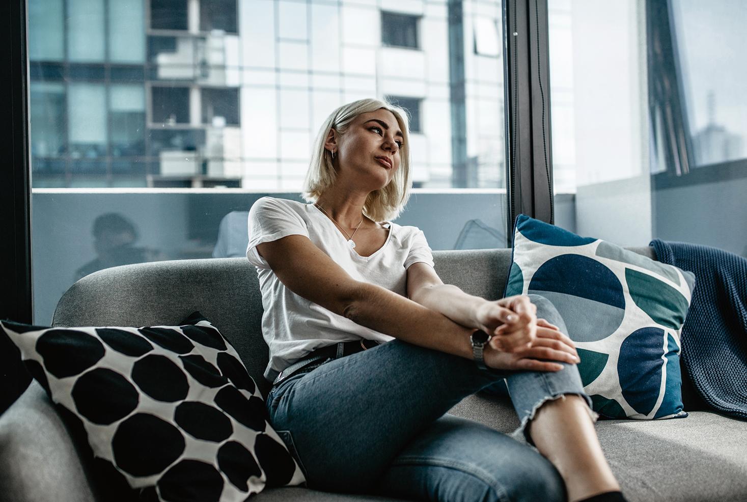 Australien Rundreise_Melbourne entdecken im Airbnb mit Skyline-Blick_4