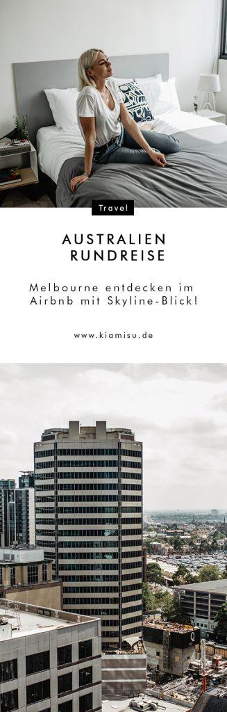 Australien Rundreise_Melbourne entdecken im Airbnb mit Skyline-Blick_8