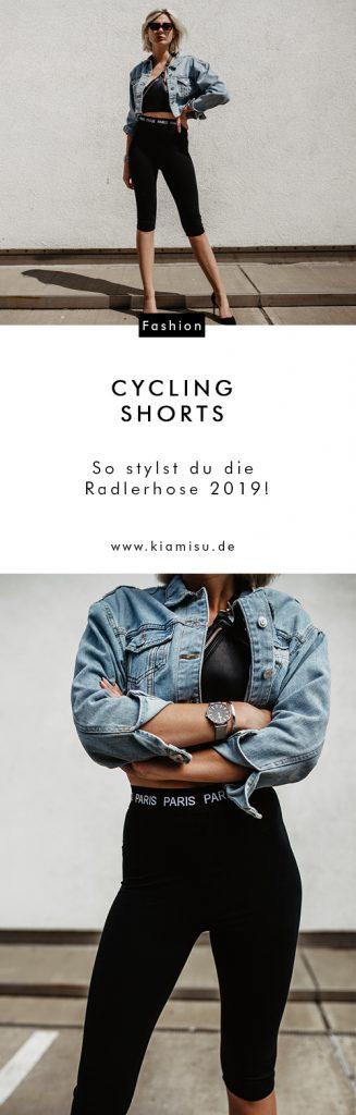 Comeback der Radlerhose: So stylst du die Radlerhose 2019!